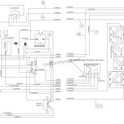 Wiring Diagram For Club Car Golf Cart Porsche 964 Dme 89 36 Volt Ezgo Get Free Image
