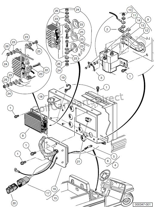 Looking For A Club Car (Golf Cart) 48 Volt Wiring Diagram