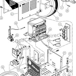 Club Car Wiring Diagram 36v Cell Cycle Blank Worksheet Onboard Powerdrive Battery Crager (model17935), Domestic - Parts & Accessories