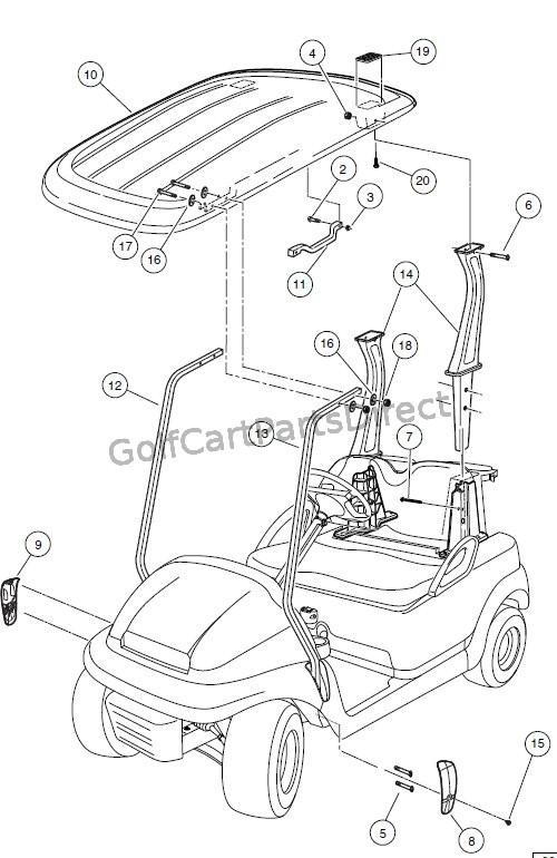 Club Car Precedent Headlight Wiring Diagram