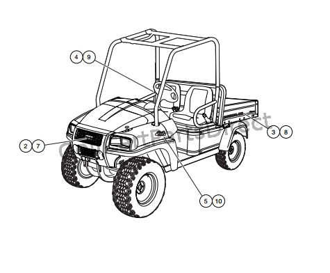 Yamaha G2 Electric Golf C Wiring Diagram 1997 Club Car