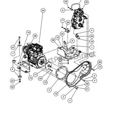 Diesel Engine Starter Diagram Flow Utility Design 2008 Club Car Xrt 1550 Or Carryall 295 Parts Accessories Kubota D722 Mounting
