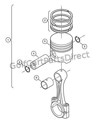 Ezgo Golf Cart Rear Axle Diagrams Gas Engine
