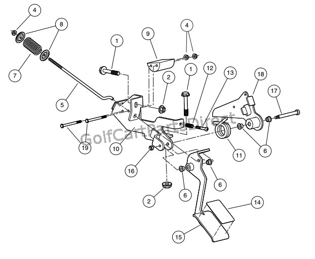 Ingersoll Rand Golf Cart Wiring Diagram 2008 Club Car Xrt 1550 Or Carryall 295 Golfcartpartsdirect