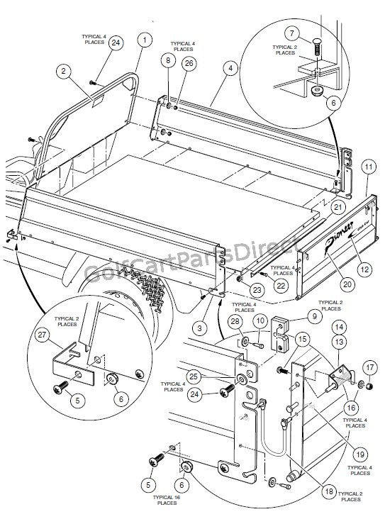 Ez Go Golf Cart Fuse Box Location : 33 Wiring Diagram