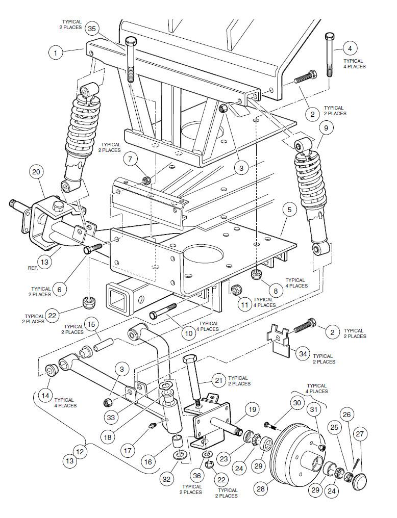 medium resolution of gas carryall 550 wiring diagram taylor wiring diagram club car 48v wiring diagram gas club