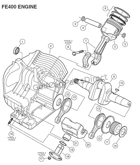 Fe290 Engine Diagram. Diagrams. Wiring Diagram Images