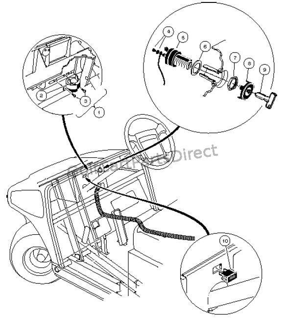 Club Car Carryall 6 Wiring Diagram Schematic Diagram Electronic