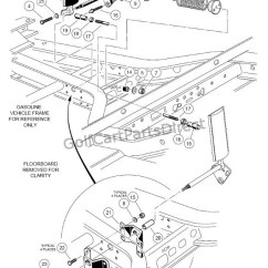 Club Car Wiring Diagram 36v 240sx 1998-1999 Ds Gas Or Electric - Parts & Accessories