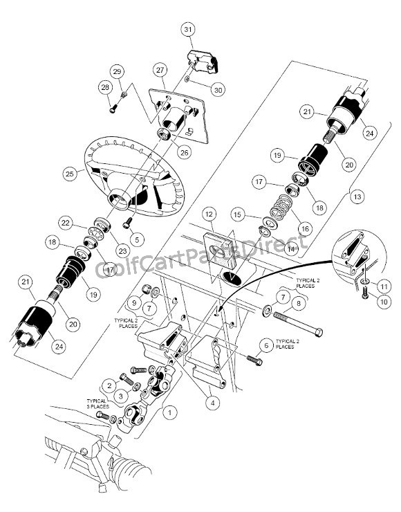 Club Car Engine Parts Diagram, Club, Free Engine Image For
