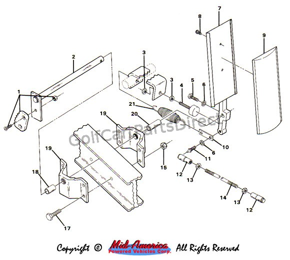 1999 ez go golf cart wiring diagram uml state chart examples 1984-1991 club car ds electric - parts & accessories