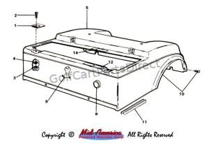 19841991 Club Car DS Electric  Club Car parts & accessories