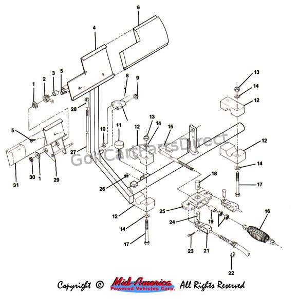 1991 Club Car 36 Volt Wiring Diagram Basic Car Wiring