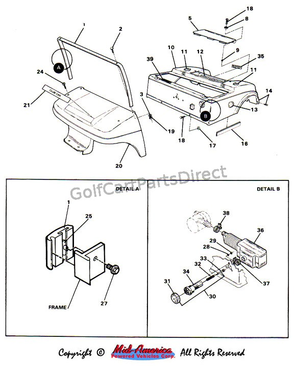 Club Car Light Wiring Diagram Precedent Volt Headlight Kit