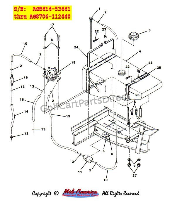 gas club car wiring diagram 1990 rover 25 ecu 1991 free for you 1984 ds parts accessories engine 86
