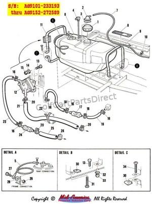 19841991 Club Car DS Gas  Club Car parts & accessories