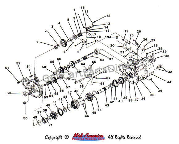 Wiring Diagram Database: Ezgo Rear Axle Exploded Diagram