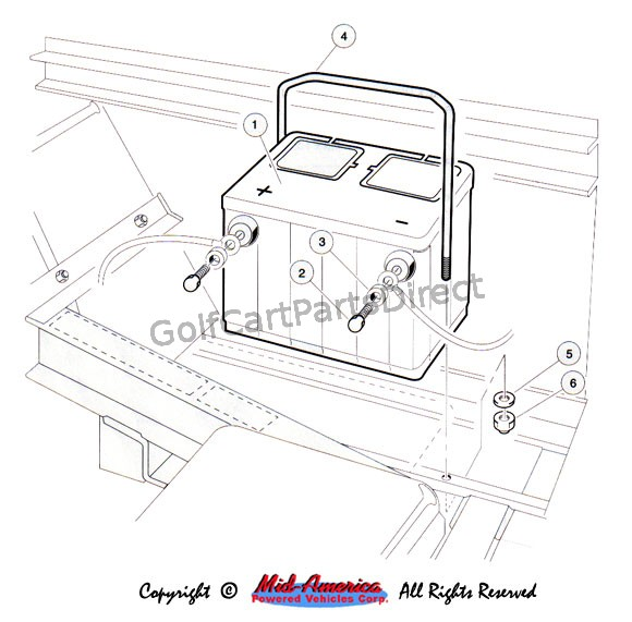 1992 club car ds gas wiring diagram lima bean seed part 1992-1996 or electric - parts & accessories