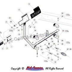 1992 Club Car Ds Gas Wiring Diagram 90cc Pit Bike 1992-1996 Or Electric - Parts & Accessories
