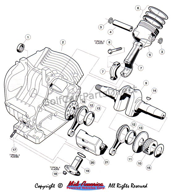 Yamaha G14 Golf C Wiring Diagram Ezgo Golf Cart Wiring