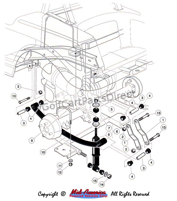 Western Golf Cart Wiring Diagram Model Western Golf Cart