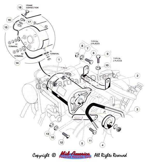 wiring diagram volt starter generator wiring 1999 club car starter generator wiring diagram 1999 wiring on wiring diagram 12 volt starter