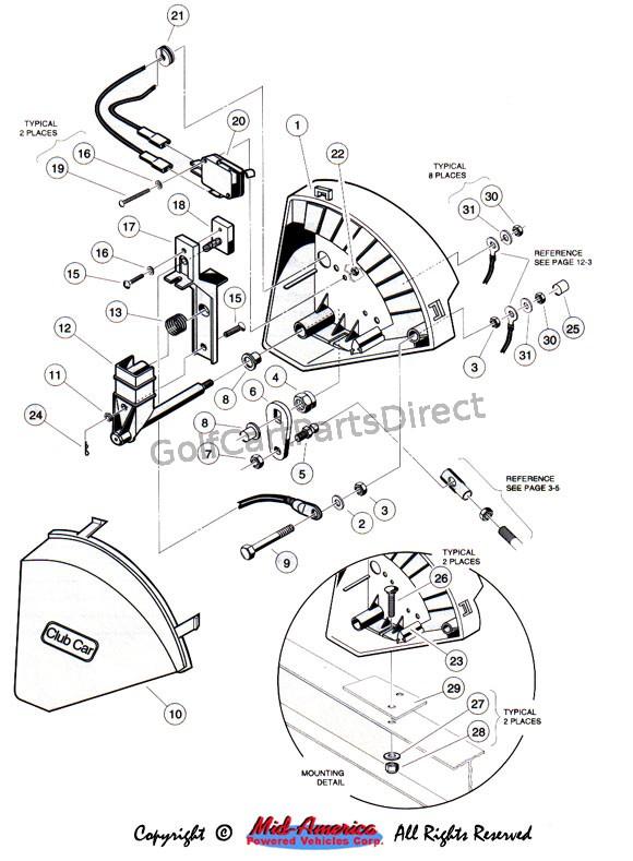 36 volt club car v glide wiring diagram