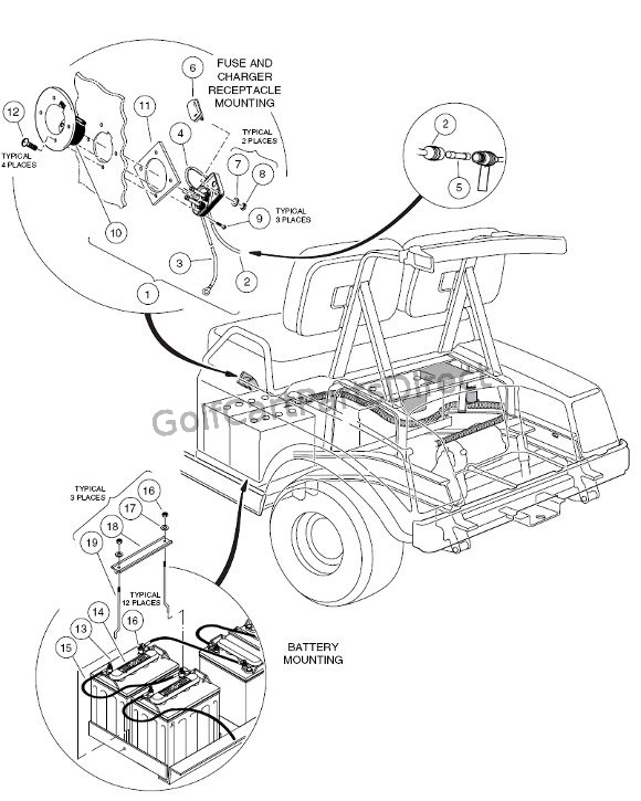 Club Car 36v Wiring Diagram Accelarator