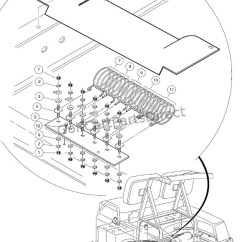 Club Car Wiring Diagram 36v Ez Go 48 Volt Battery Resistor & Board Assembly - Parts Accessories