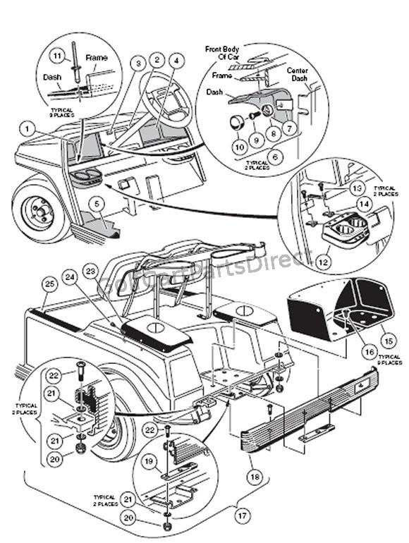 2008 Ds Club Car Battery Wiring Diagram