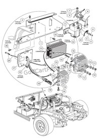 On-Board Computer 48V - Club Car parts & accessories