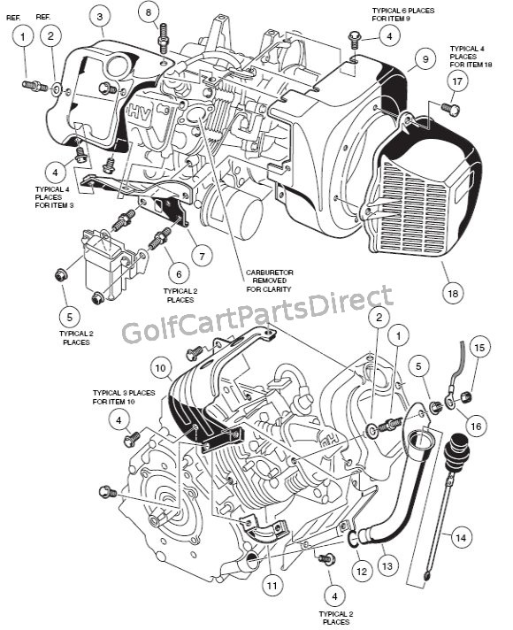 1996 Ezgo Gas Engine Diagram. Engine. Auto Parts Catalog