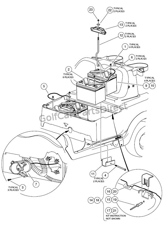 2004 Club Car Battery Wiring Diagram