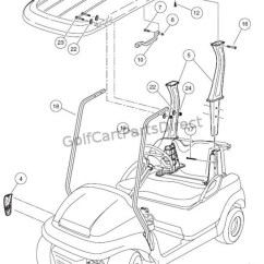 Club Cart Wiring Diagram Alto Car Electrical Canopy - Parts & Accessories