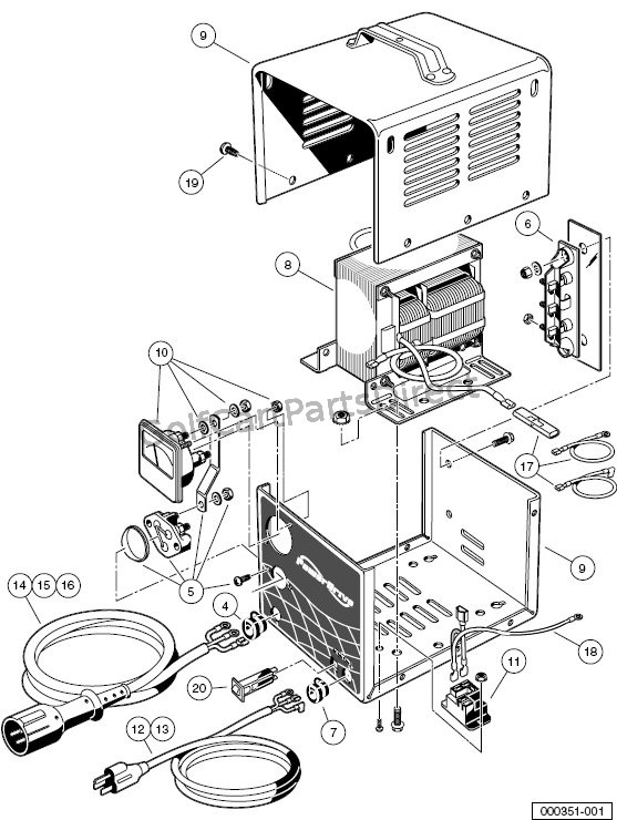 Wiring Diagram For Golf Cart Charger