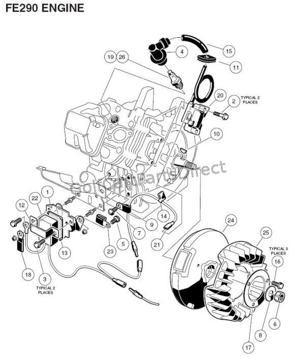 2000 Club Car Gas Engine Serial Number, 2000, Free Engine