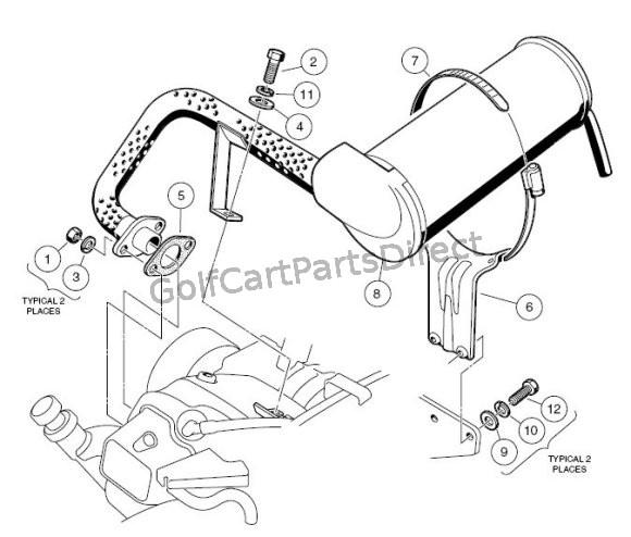 Club Car Fuel Filter