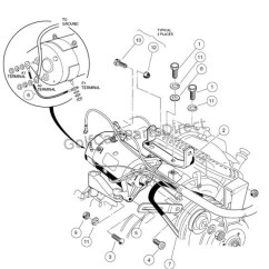 Wiring Diagram For Club Car Starter Generator Universal Electronic Ballast 1995 Ez Go Database