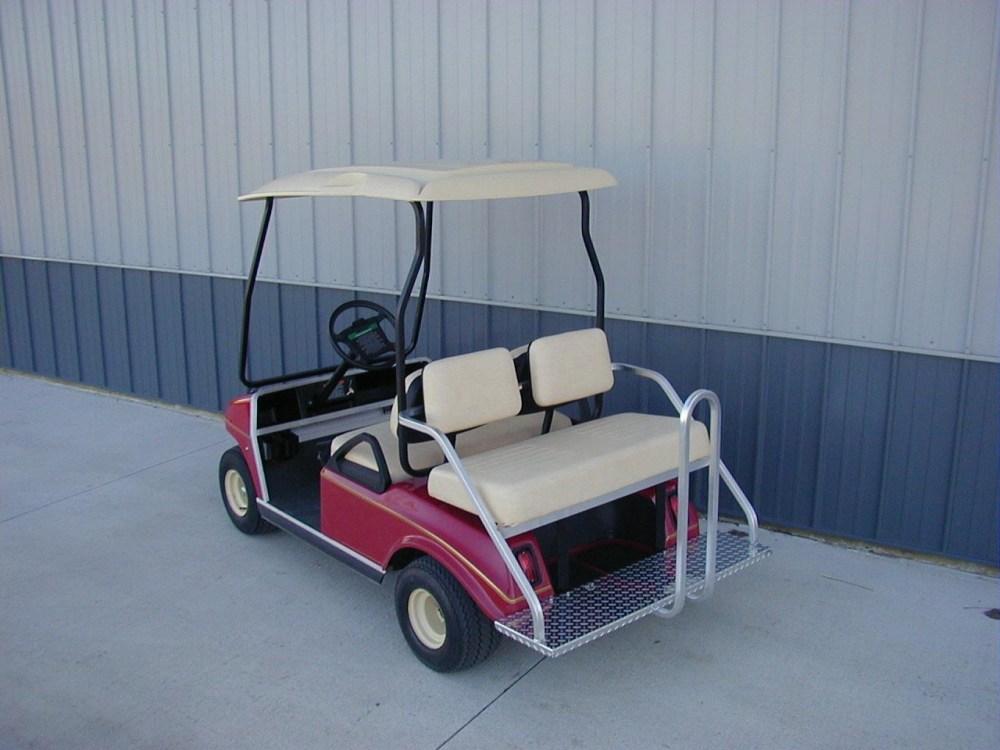 medium resolution of mm pk250ccb stationary rear seat club car ds w beige seats