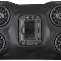 SSV Works WP-RZ3O4 Polaris RZR XP1000 BLUETOOTH 4 Speaker Overhead Stereo System