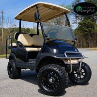 "Club Car Precedent Golf Cart 6"" Lift Kit + 12"" Wheels and 23"" All Terrain Tires (4)"