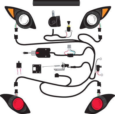 wiring diagram for lights on yamaha golf cart – readingrat, Wiring diagram