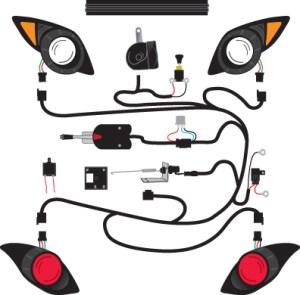 Deluxe Golf Cart Light Kits 2  Golf Cart Trader
