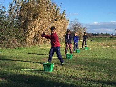 Ecole de golf enfant