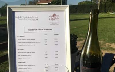 Une carte des vins de printemps très sympa !