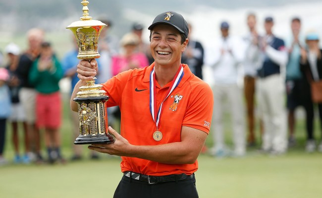 Viktor Hovland Completes Near Perfect Week For U S Am