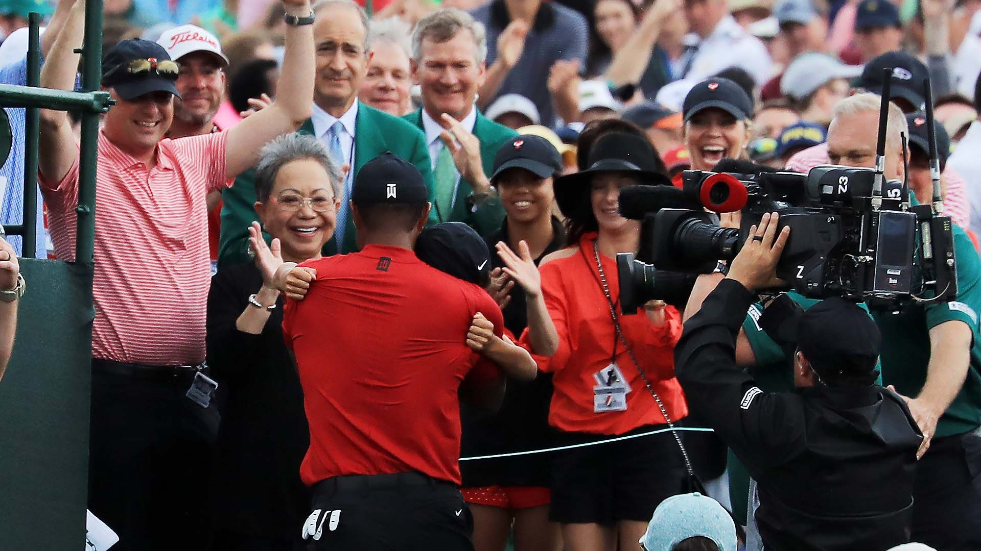 tiger woods kids today