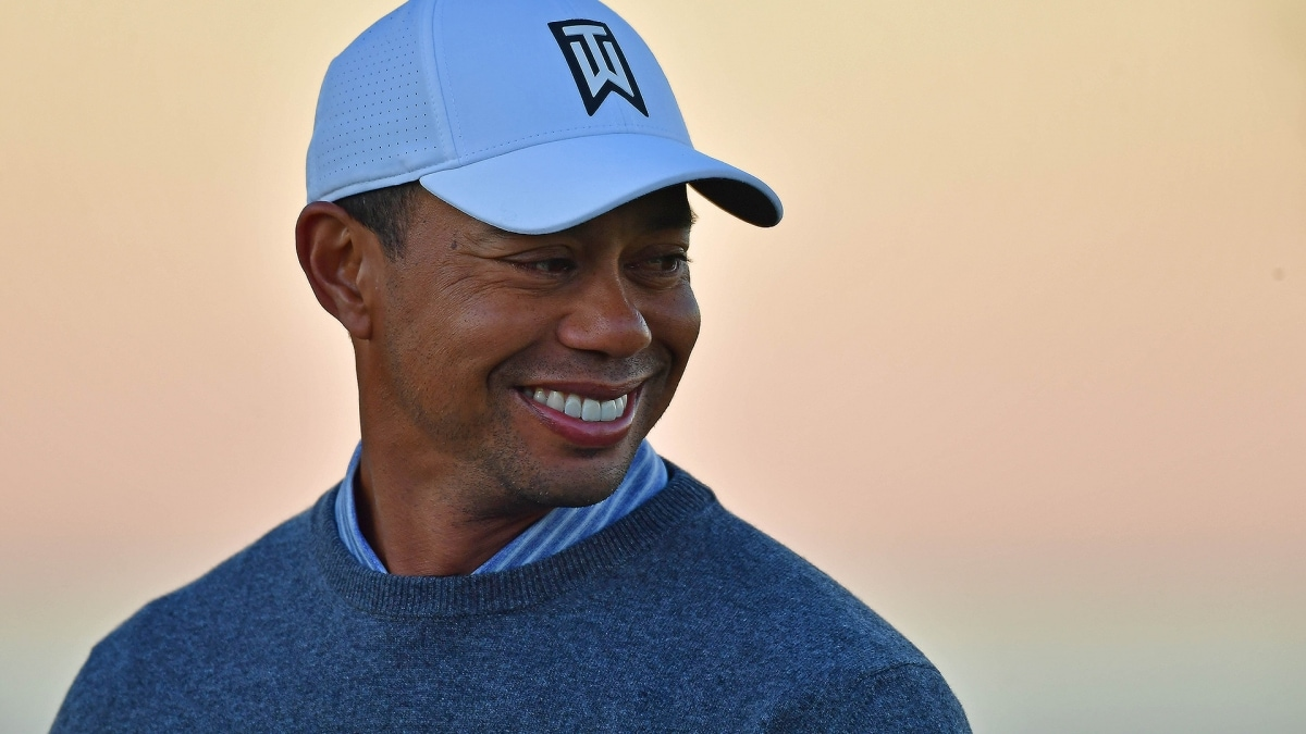 Watch Tiger Woods Denied A Slice Of Pizza During Farmers