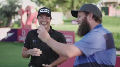 Luck Of The Draw Viktor Hovland Beef Face Off In
