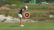 Stacy Lewis 'mad ' Shoots 63 In Bid Olympic Gold